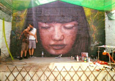 Mural Estadilla – Bar el Gnomo