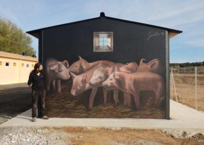 Guardería Porcina – Pueyo de Santa Cruz